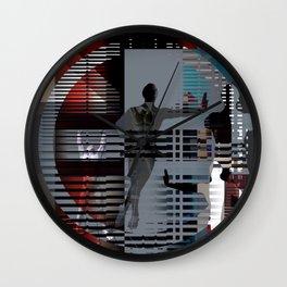 a.fifth.perception Wall Clock