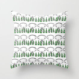 Soju Party Throw Pillow