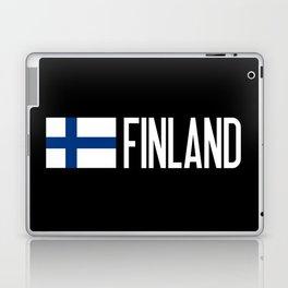 Finland: Finnish Flag & Finland Laptop & iPad Skin