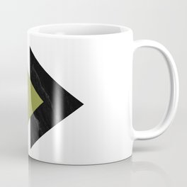 Forward Arrows Marble Pepper Stem Collage Coffee Mug