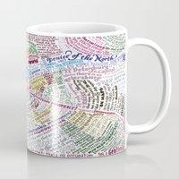 literary Mugs featuring St. Petersburg Literary Map by Ilya Merenzon