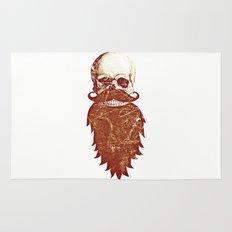 Beard Skull 2 Rug