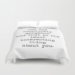 Absolutely Gorgeous Duvet Cover