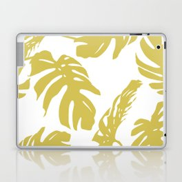 Simply Mod Yellow Palm Leaves Laptop & iPad Skin