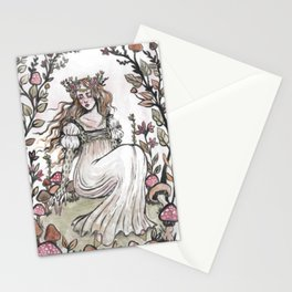 Fairy Ring Maiden Stationery Cards