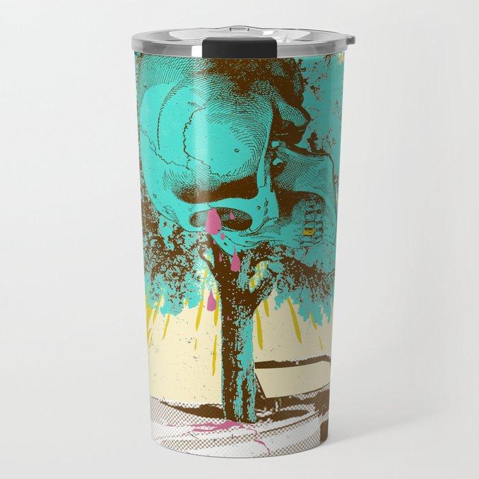 SKULL DRIVER Travel Mug