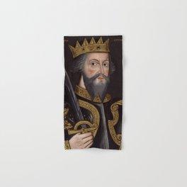 Vintage William The Conqueror Portrait Hand & Bath Towel