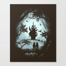 Dark Crystal Dreams Canvas Print