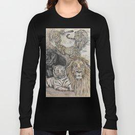Big Cats Long Sleeve T-shirt
