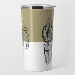 Glass people Travel Mug