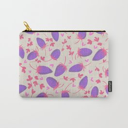 Unreal Strawberry pattern Carry-All Pouch
