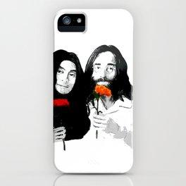 John and Yoko iPhone Case