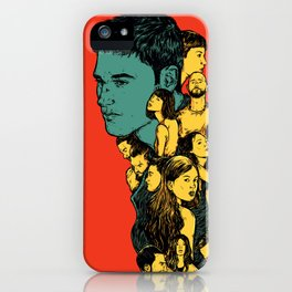 All those beautiful girls and boys iPhone Case