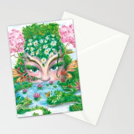 SPRING NYMPH Stationery Cards
