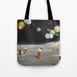 Cosmic Golf Tote Bag