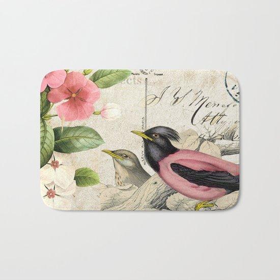 Sweet birds #6 Bath Mat