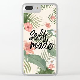 Self made Clear iPhone Case