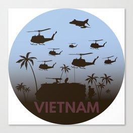 Vietnam War Canvas Print