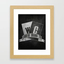 Wildcards Framed Art Print