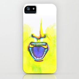 All I Hear is White Noise iPhone Case