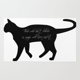 Black cat   Witchy cat   Sacred cat   Witch quotes   Wicca quotes Rug