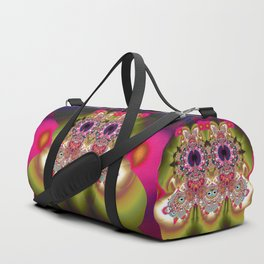 Cute Little Owl Goes Out Duffle Bag