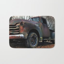 Rusty Truck Bath Mat