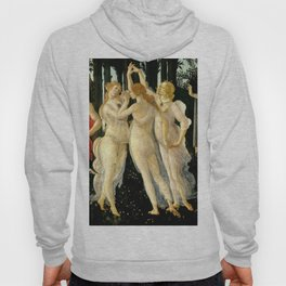 "Sandro Botticelli ""Spring"" The Three Graces (1) Hoody"