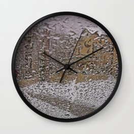 Looking To The Otherside Wall Clock