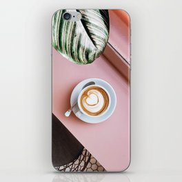 pink latte iPhone Skin