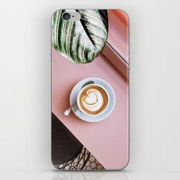 pink latte iPhone Skin