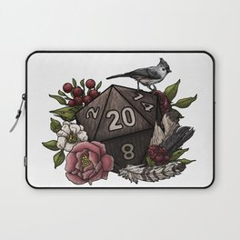 Druid Class D20 - Tabletop Gaming Dice Laptop Sleeve