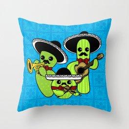 Los Nopalitos Throw Pillow