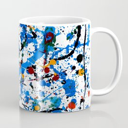 Frenzy in Blue Coffee Mug