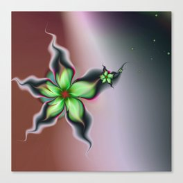 Fleur de la Récolte Canvas Print