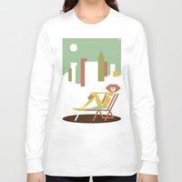 central park Long Sleeve T-shirts featuring Central Park by Szoki