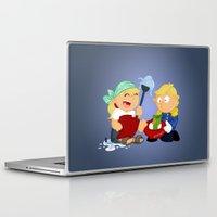 cinderella Laptop & iPad Skins featuring Cinderella by Alapapaju