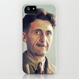 George Orwell, Literary Legend iPhone Case