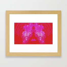 Electric Fumes Framed Art Print