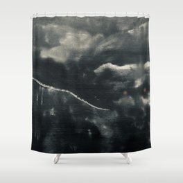 Protector of the Mountain Shower Curtain