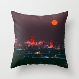 Missile Row Throw Pillow