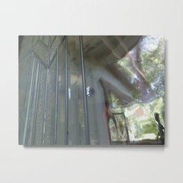 Leaded glass dream Metal Print