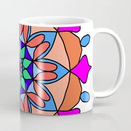 Hand drawing zentangle color Coffee Mug