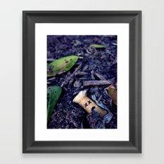 Buried Alive Framed Art Print