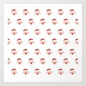Find the hidden Santa (Patterns Please) by lalainelim