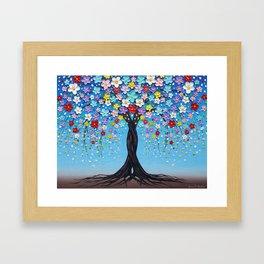 Kaleidoscope Dreams Framed Art Print