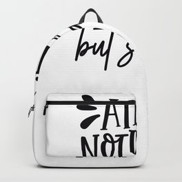 Tote Bag Design Ain't Nothing But Snacks Backpack