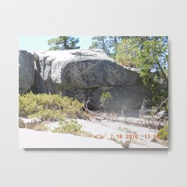 Same as the big picture, just split up into each side, alligator, road trip, rock formation Metal Print