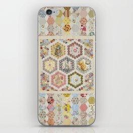 Anna Brereton Quilt iPhone Skin