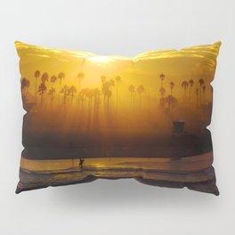Misty Sunrise * Huntington Beach, California Pillow Sham